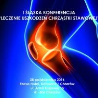 """I Śląska Konferencja """"Leczenie uszkodzeń chrząstki stawowej"""""""