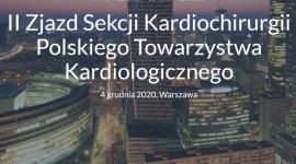 II Zjazd Sekcji Kardiochirurgii Polskiego Towarzystwa Kardiologicznego