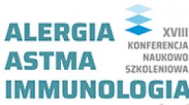 """XVIII Konferencja Naukowo-Szkoleniowa """"Alergia Astma Immunologia Kliniczna  Łódź 2019"""""""