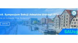 16. Sympozjum Sekcji Adeptów Urologii PTU