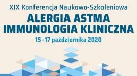 XIX Konferencja Naukowo-Szkoleniowa Alergia Astma Immunologia Kliniczna 2020