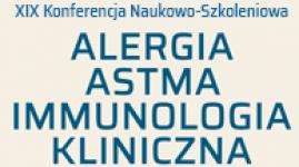 XIX  Konferencja Naukowo-Szkoleniowa Alergia Astma Immunologia Kliniczna Łódź 2020
